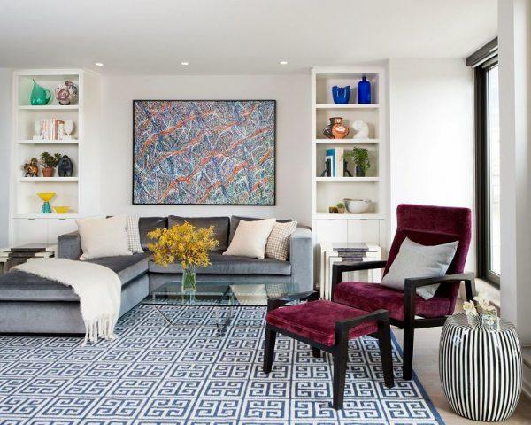 Velvet interior design