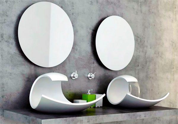 ultra modern bathroom sinks