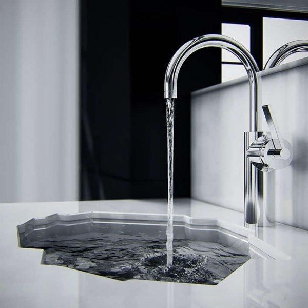 modern bathroom sink designs