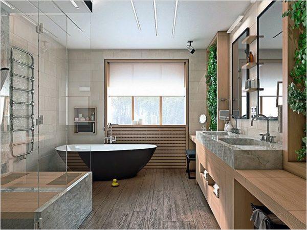 zen style bathroom design
