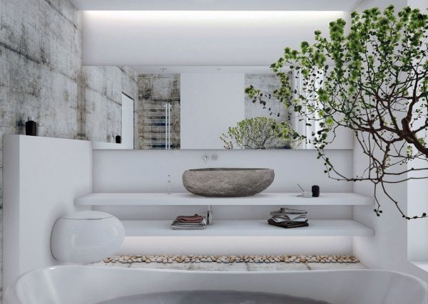 zen bathroom vanity