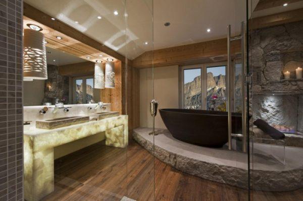 bathroom zen design