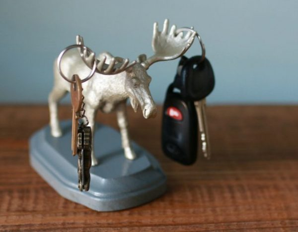 animal head key holder