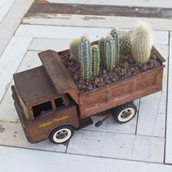 old truck planter