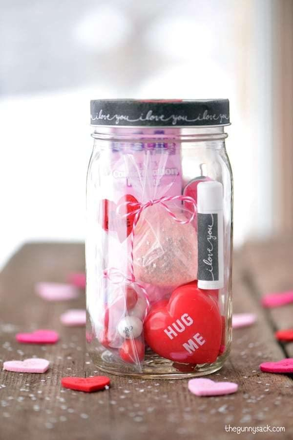 mason jar gift ideas for her