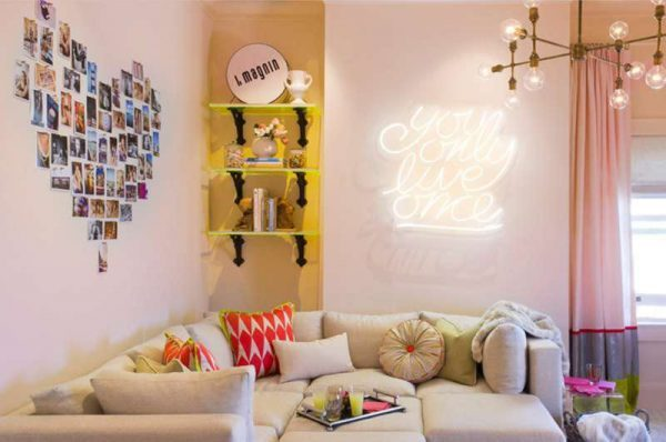 wall mounted neon signs