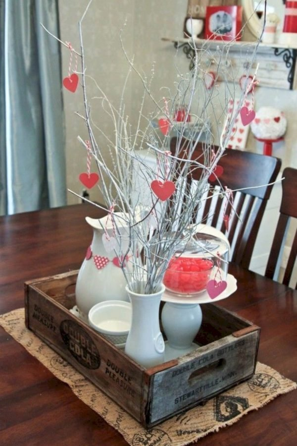 rustic valentine's day decorations