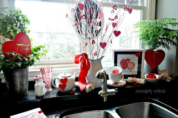 cute valentines decorations