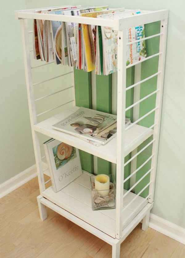 crib book holder