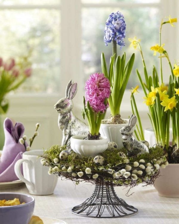 elegant easter decorations