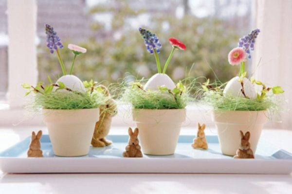 easy easter decorations to make at home