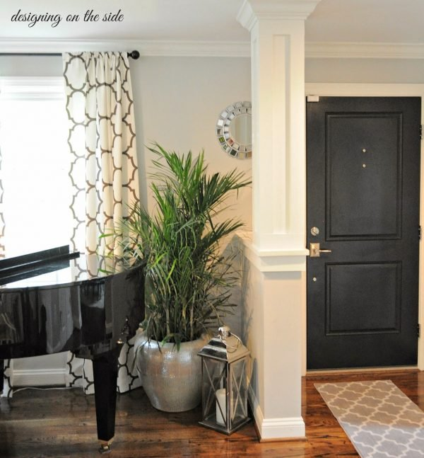 living room entryway ideas