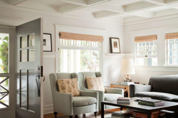 living room entrance design
