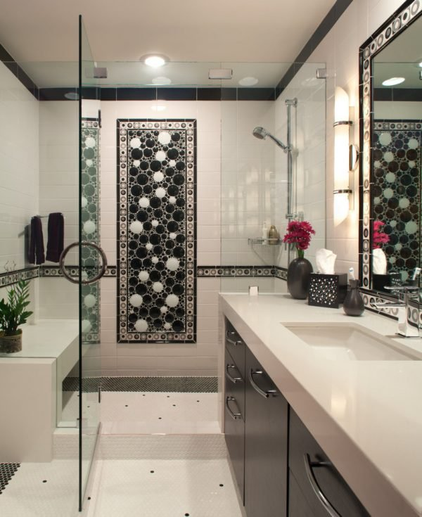 mosaic bathroom decor