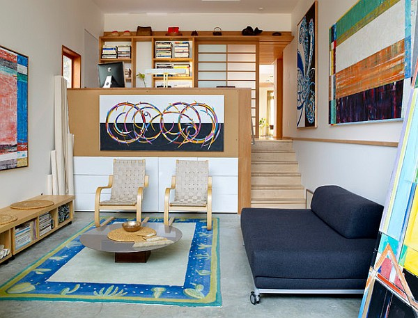 small mezzanine