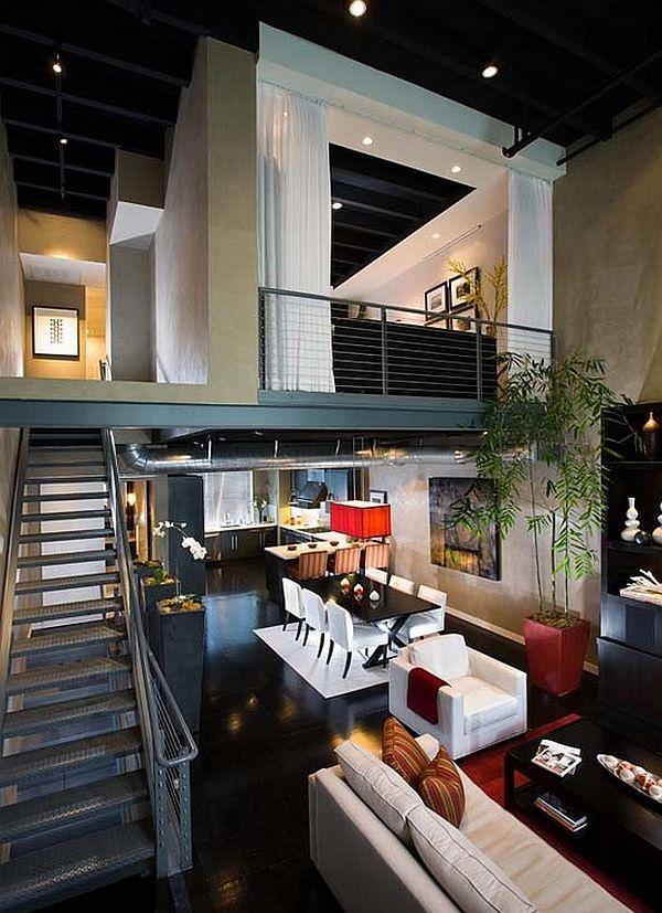 industrial mezzanine stairs