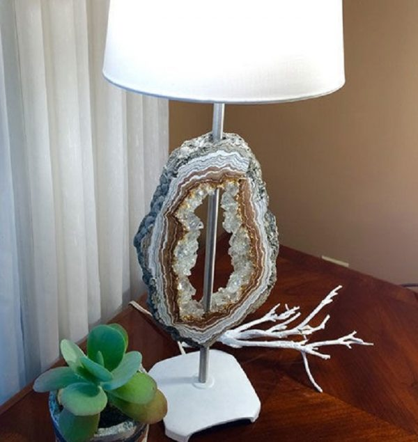 crystal brass table lamps