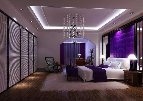 violet decor