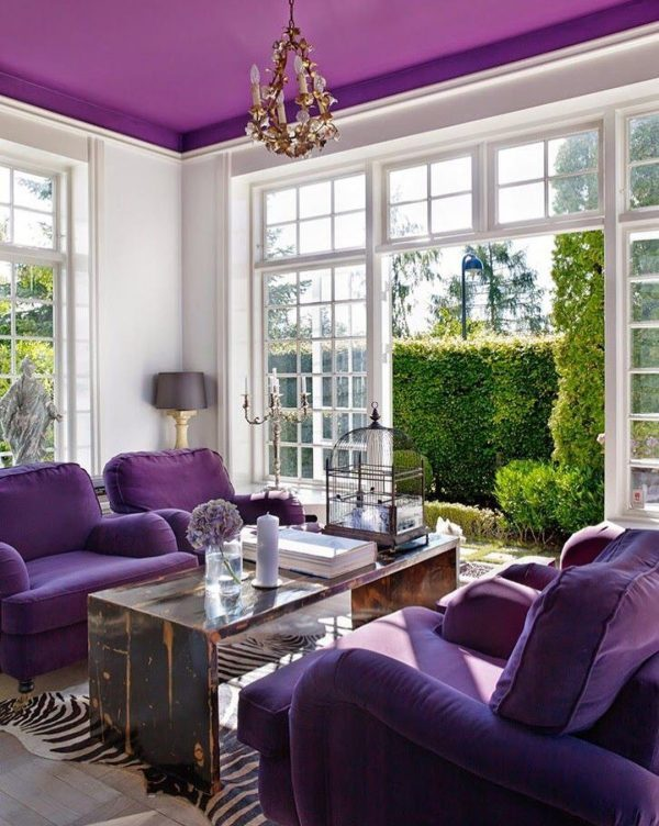 violet home decor