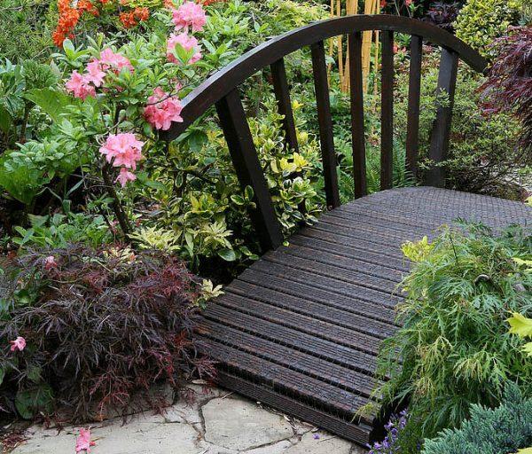 little bridge for garden
