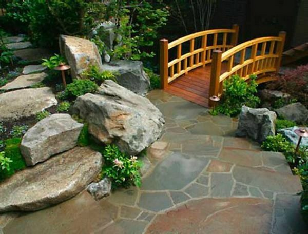 home garden bridges