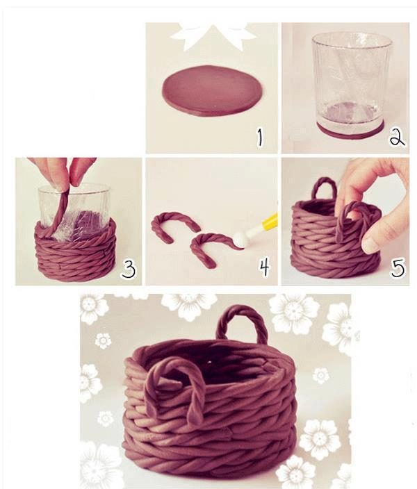 clay art and craft