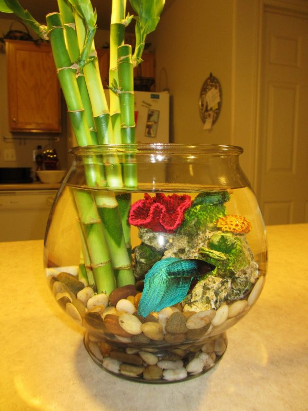 fish bowl decoration
