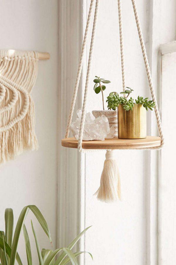 plant shelf decorating ideas