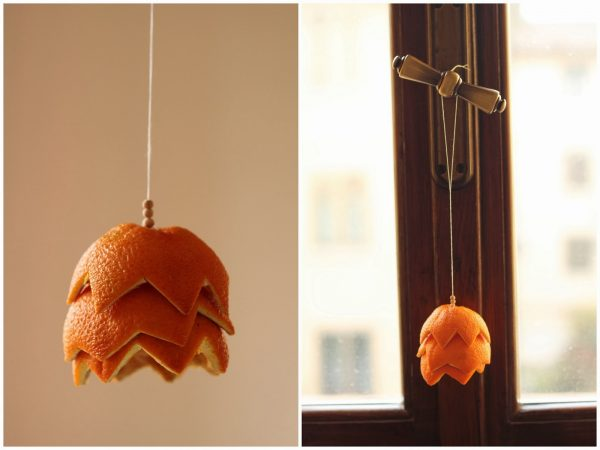 dried fruit hanging decorations