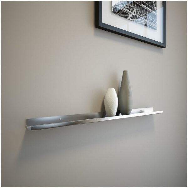 steel wall mount shelf