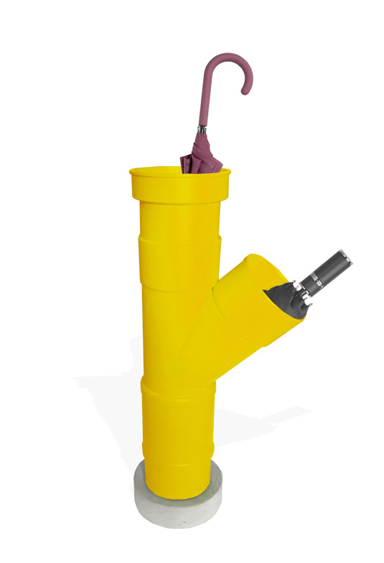 pvc pipe umbrella stand