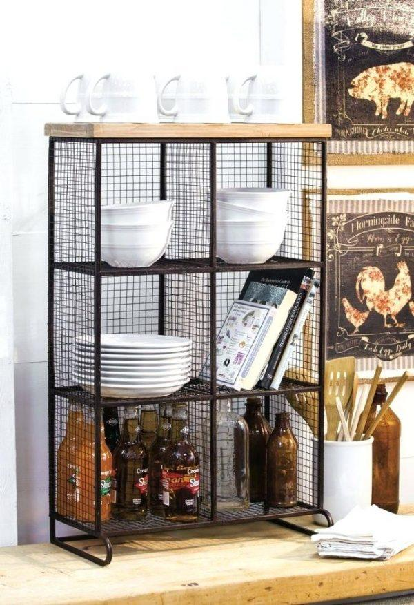 kitchen wire shelving units