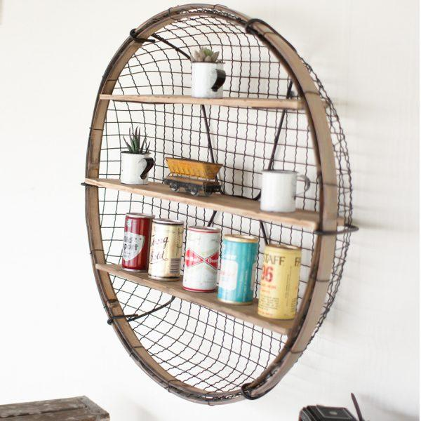open wire shelving