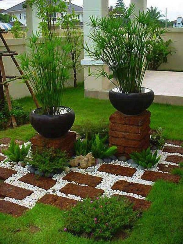 uses for old bricks in the garden
