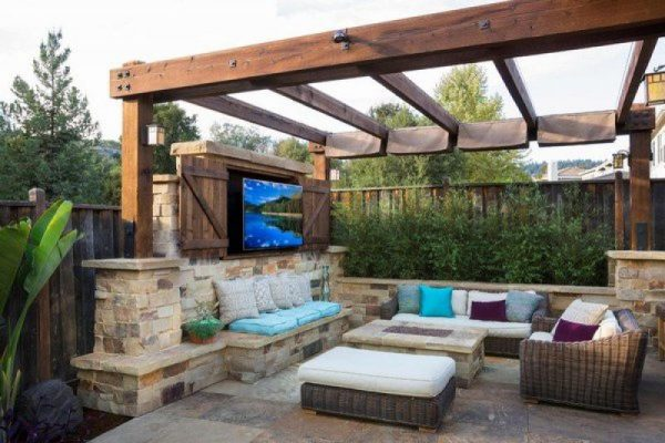 Affordable outdoor tv ideas