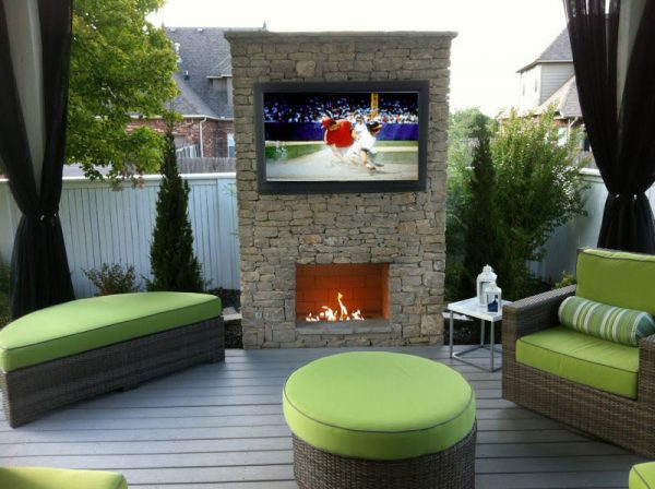 affordable outdoor tv
