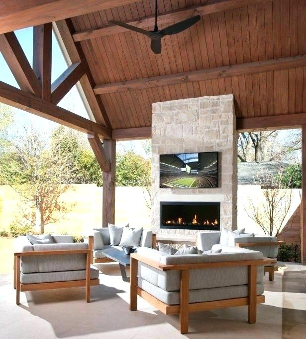 outdoor patio tv ideas