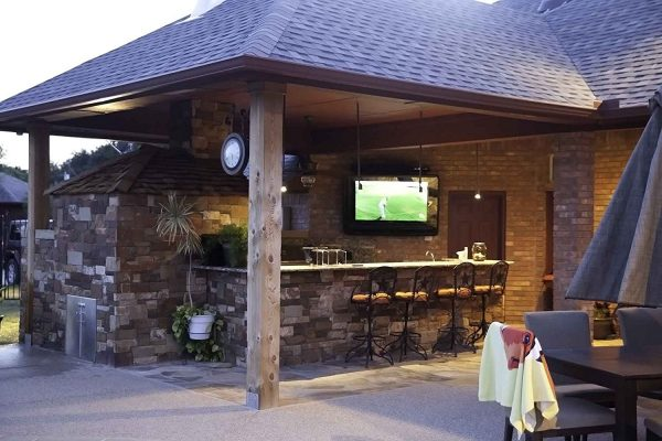 outdoor tv options