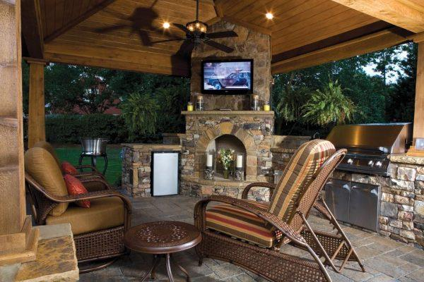 tv for outside patio