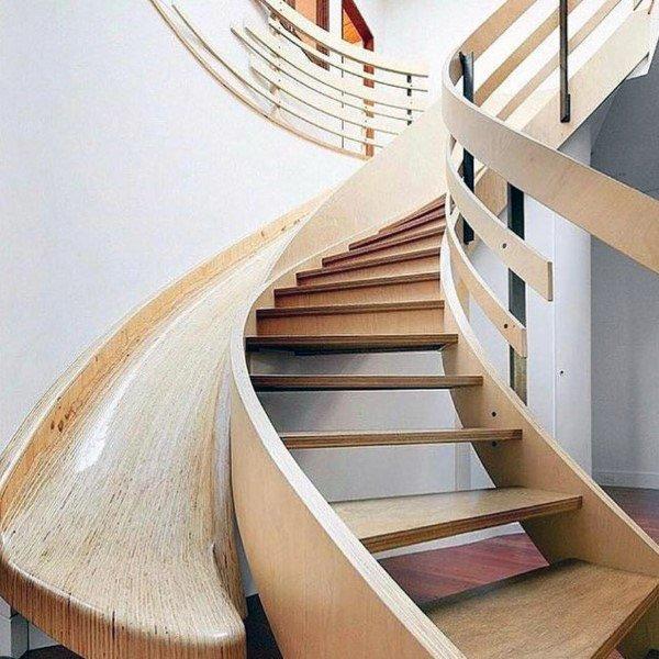 Indoor slides for homes