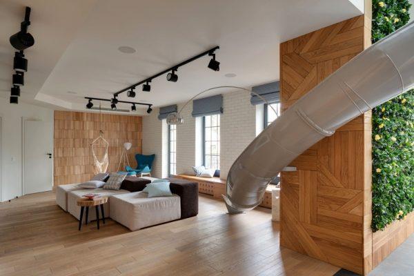 indoor slide