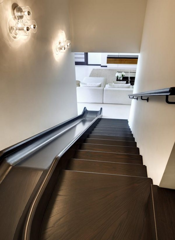 sliding stairs design
