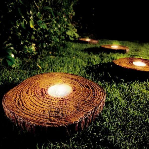 tree trunk decorating ideas