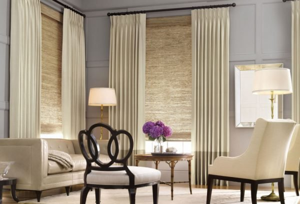 contemporary window treatment