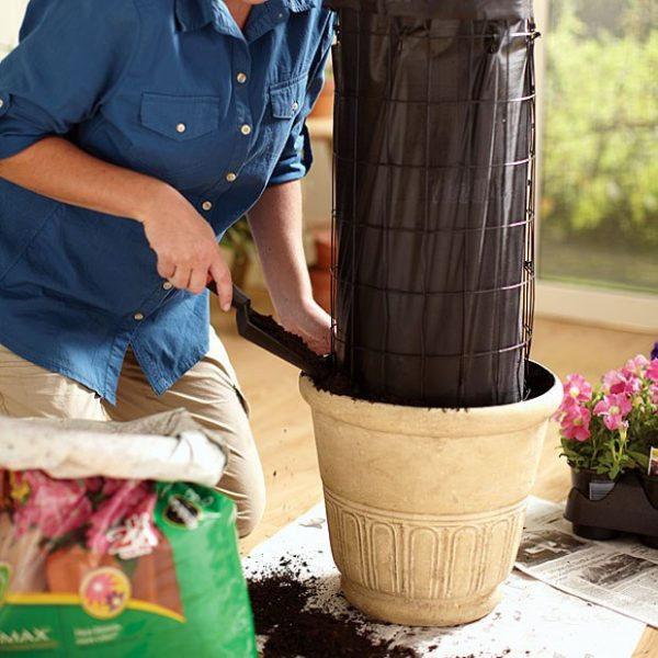 how to build a tower garden