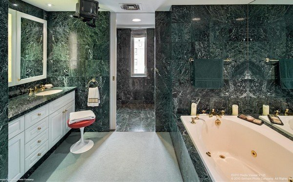 marble bathroom decor