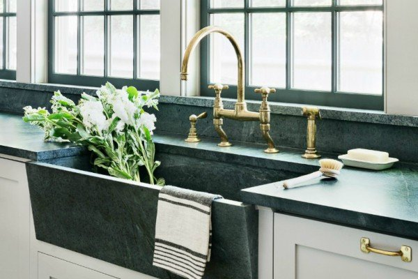marble kitchen decor