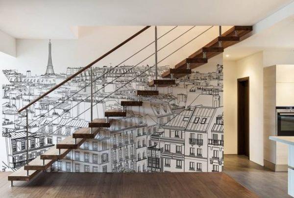 stairway wall art