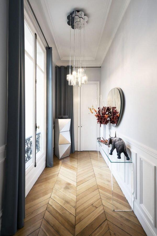 long hallway decor