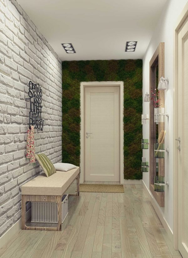 narrow hallway entry ideas